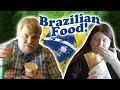 AMERICAN TRIES BRAZILIAN FOOD (Vlog): Matt Tastes Food From Brazil...For The First Time! *yum!* [CC]